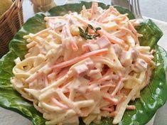 "Włoska sałatka ""capricciosa"" (Insalata capricciosa)   La grande e la piccola cuoca Italian Salad, Italian Dressing, Broccoli Salad, Cucumber Salad, Harvest Salad, Roasted Cauliflower, Prosciutto, Fennel, Cabbage"