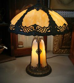 VICTORIAN STYLE CHERUB TABLE LAMP | Lamp/Lighting Collectibles ...