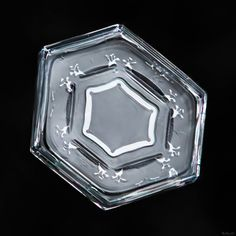 Sometimes the smallest crystals are the most beautiful, as symmetrical features…