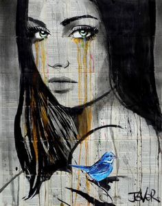"Saatchi Art Artist LOUI JOVER; Drawing, ""almost always"" #art"