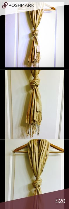 100%rayon tan fringe scarf new with tags! This listing is for a 100% rayon tan fringe scarf bran new with tags from Kohl's super supersoft since it is 100% rayon comfortable great for spring or winter or even a chilly night in the summer brand-new never worn with tags's kohls Accessories Scarves & Wraps