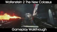 Wolfenstein 2 The New Colossus- Gameplay https://www.youtube.com/watch?v=oxE6WULoUiQ #gamernews #gamer #gaming #games #Xbox #news #PS4