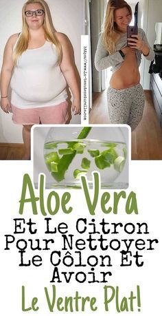 Aloe Vera et le citron pour nettoyer le côlon et avoir le ventre plat! When the colon is full of toxic waste that cannot be eliminated, it is likely that inflammation and pain are present, this Best Nutrition Food, Health And Nutrition, Health Tips, Nutrition Products, Health Fitness, Sixpack Training, Colon Detox, Lose Weight, Get Skinny
