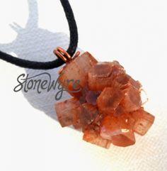 Natural Aragonite Crystal Pendant | StoneWyre