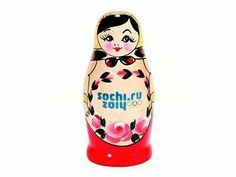 Sochi 2014 Russian matryoshka (nesting doll) (4 dolls)| Official Olympic Shop