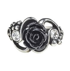 Black Onyx Ring, Black Rings, Black Silver, Gothic Jewelry, Boho Jewelry, Jewelry Rings, Gothic Rings, Stylish Jewelry, Jewellery