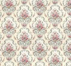 Plenty of Fabulous designs in wallpapers to choose from in my shop which will suit all tastes. Wallpaper is printed on Quality 190 gsm Matte Paper Shabby Vintage, Vintage Paper, Vintage Flowers, Floral Wallpaper Iphone, Damask Wallpaper, Doll House Wallpaper, Home Wallpaper, Printable Fabric, Ideas