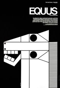 National Theatre (UK) has a poster archive with vintage production posters for sale: this one is designed by Moura-George/Briggs featuring an illustration by Gilbert Lesser.     Date  1973