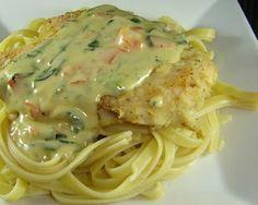 Tuscan Garlic Chicken | http://www.readableeatables.blogspot.com/2010/08/tuscan-garlic-chicken.html