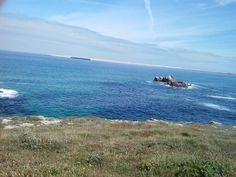 O mar visto dende a Senda Azul (Arteixo)