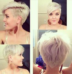 Pixie Cut with Shaved Side