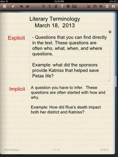 Explicit VS Implicit Poster | Teaching | Pinterest ...