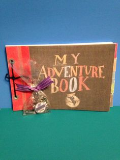 New Beginnings UP theme-My Adventure Book-take home favors-Notice the monthly tabs so the girls can take notes each week on the monthly lesson topics...