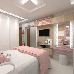 beautiful bedroom decor ideas for teen girls that looks comfy 52 Teen Bedroom Designs, Bedroom Decor For Teen Girls, Small Room Bedroom, Bedroom Ideas, Wood Bedroom, Girl Bedrooms, Stylish Bedroom, Modern Bedroom, Cute Room Decor