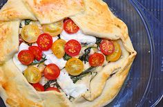 Goat Cheese Galette