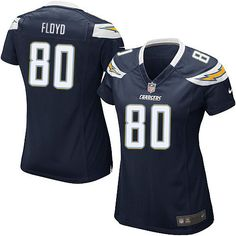 Women Nike San Diego Chargers #80 Malcom Floyd Limited Navy Blue Team Color NFL Jersey Sale