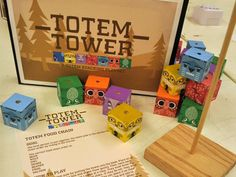 Totem Tower Game Design - Stephanie Swanson