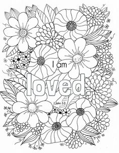 Free Bible Verse Coloring Page