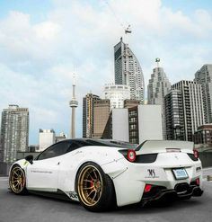 Liberty Walk Ferrari 458 Italia in Toronto Ferrari California, Ferrari 458 Italia, Ferrari 488, Lamborghini, Liberty Walk Cars, Automobile, F12 Berlinetta, Mercedes Sls, Super Sport Cars