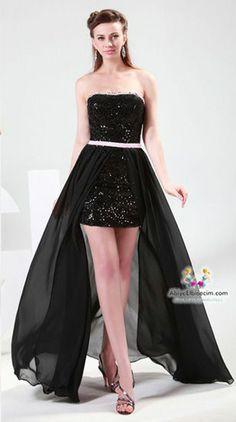 Kısa abiye elbise modeller