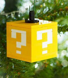 Des décorations en Lego pour votre sapin de Noël !