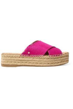 5c5a2408af39d3 SAM EDELMAN Natty slub satin espadrille sandals.  samedelman  shoes   espadrilles Espadrille Sandals