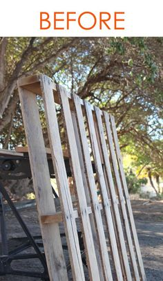This stunning one-pallet DIY got pinned 128,000 times! You will instantly see why!