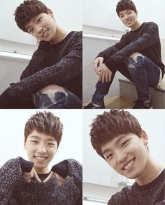 Chan is so cute
