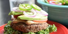 The Engine 2 Diet | Plant-Strong Burgers