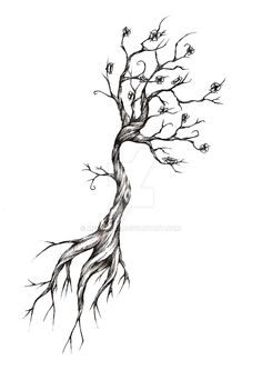 Tree Tattoo Design by meripihka on @DeviantArt More