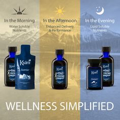 The Kyäni Triangle of Health offers nutrients for every part of your day!