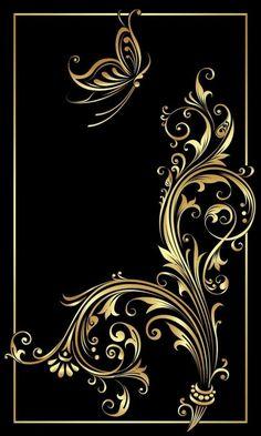 By Artist Unknown. Butterfly Wallpaper, Butterfly Art, Butterflies, Cellphone Wallpaper, Iphone Wallpaper, Fractal Art, Fractals, Motif Floral, Art Background