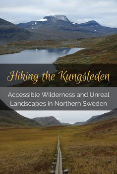 Hiking the Kungsleden, through deep valleys alongside the tallest peaks in Sweden, to the terrifying cloud covered Tjaktja Pass, alone in late summer.