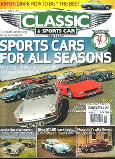 Thoroughbred And Classic Cars Magazine Lennon Ferrari Rs