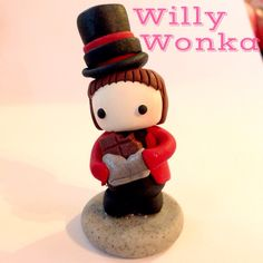 Willy Wonka Marshfellow ||| clay, toy, doll, house, marshmallow