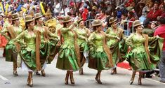 carnaval d'Ouro, Bolivie