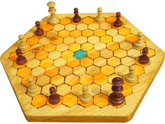 Chapter 3 describes Agon. This is a race to the centre of the board, in which there is no luck. Instead, pieces are used together to block the opponent or throw enemy pieces back to the edge, while advancing one's own forces towards the centre. The book discusses its origins and gives some strategic tips allowing new players to begin their game with a certain level of competence.