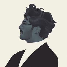 http://jackmrhughes.tumblr.com/post/66379977770/wip-good-hair-day-having-fun-with-this-one