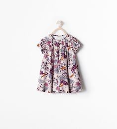 PRINTED DRESS - Dresses - Baby girl (3 months - 3 years) - KIDS | ZARA United States