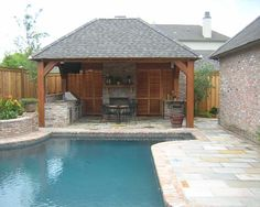 Pool Cabana Ideas 25 best ideas about pool cabana on pinterest outdoor pool with picture of new swimming pool cabana designs Traditional Pool Design Pictures Remodel Decor And Ideas Page 13
