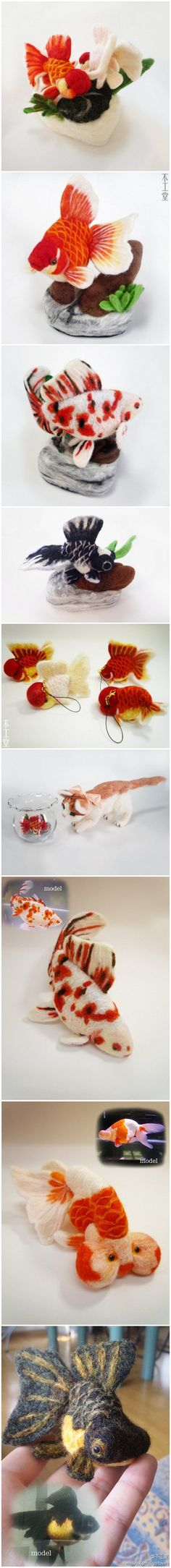 Put into a fish bowl for the kitchen