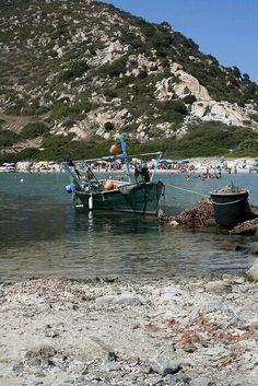Villasimius barca dei pescatori