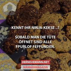Kennt ihr Ninja-Kekse? #derneuemann #humor #lustig #spaß #kekse
