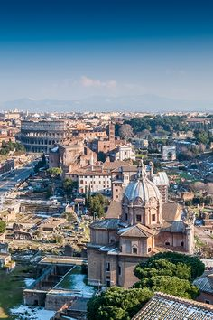 Rome... It wasn't this beautiful when I went there! Or maybe I just wasn't looking?