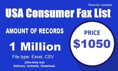 When you purchase USA Consumer Fax List through our service, you get satisfactory contact names, process titles, workplace location, telephone numbers Email Marketing Lists, Online Marketing, Digital Marketing, Communication Relationship, Good Communication, Buy Email List, Marketing Definition, Fax Number, Email Campaign