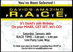 amazing race birthday party templates 1000 images about amazing race games on pinterest