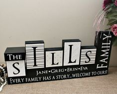 Wedding Gift For Couple Living With Parents : Blocks, Parents Anniversary Gift, Living Room Decor, Christmas Gift ...