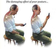 Smartphone posture epidemic - Dr Ryan Hislop - Chiropractor Mudgee
