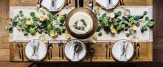 Have you ever wondered about the right way to set a table?It's not as difficult as it seems. Once you know the basics, it's a quick setup whether you're hosting a formal or casual dinner party. #Entertaining #HomeDecor #HomeBeginsHere #HolidayPrep