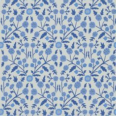Marine / Indigo - 214759 - Candytuft - Papavera - Sanderson Wallpaper in Home, Furniture & DIY, DIY Materials, Wallpaper & Accessories Twisted Show, Scandinavian Wallpaper, Nordic Style, Chinoiserie, True Colors, Poppies, Indigo, Floral Prints, Colour Match